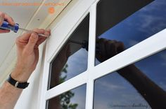 Learn how to install Easy DIY Faux Garage Door Windows at your home in no time at all with this step by step guide! And adding faux windows are an inexpensive way to upgrade your home's curb appeal. Delineate Your Dwelling