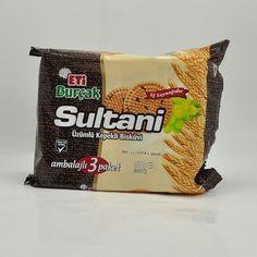 Eti Sultani Uzumlu & Kepekli Biskuvi 3'lu paket 414 gr / Oatmeal & Raisin Cookies 3 pack 15 oz