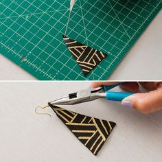 4 Ways to Make Leather Earrings | Brit + Co