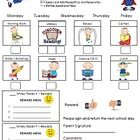 My students love this chart.  I use this chart for behavior modification.  I put smiley faces in each block when the behavior wanted is given.  The...