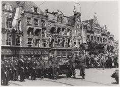 Haarlem 1945 Grote Markt bevrijding