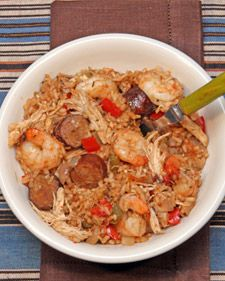 This delicious recipe for firehouse jambalaya is a spicy dinner dish that everyone will enjoy.