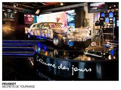 Peugeot - Secrets de tournage #Techno #design #flagship