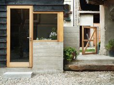 Wood and the Dog is small firewood storeroom and seating space by studioerrantearchitecture http://studioerrantearchitecture.tumblr.com/