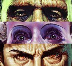 Jason Edmiston Horror Monsters, Scary Monsters, Horror Art, Horror Movies, Jason Edmiston, Classic Monsters, Monster Mash, Tumblr, Classic Movies