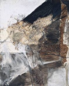 """colin-vian: """" Sandra Blow Space and Matter, 1959 """" Abstract Landscape, Abstract Art, Abstract Drawings, Abstract Paintings, Modern Art, Contemporary Art, Art Informel, Tate St Ives, Scale Art"""