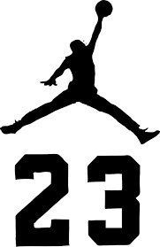 Amazon Com Nba Jordan 23 Jumpman Logo Air Huge Vinyl Decal