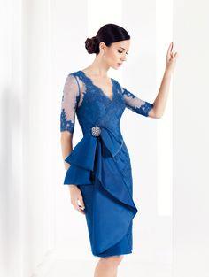 Diseños de Vestidos de Cóctel de Patricia Avendaño 2015 - Vestidos Mania