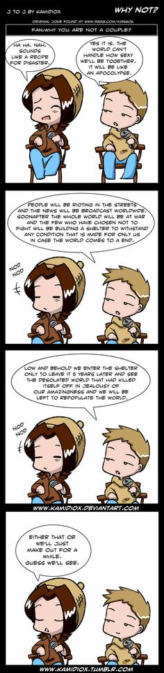 J to J: Why Not? by KamiDiox on deviantART
