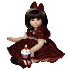 Look what I found on Red Velvet Doll by Marie Osmond Dolls Child Doll, Baby Dolls, Beautiful Hands, Beautiful Dolls, Pretty Dolls, Velvet Dolls, Marie Osmond, Vinyl Dolls, Collector Dolls