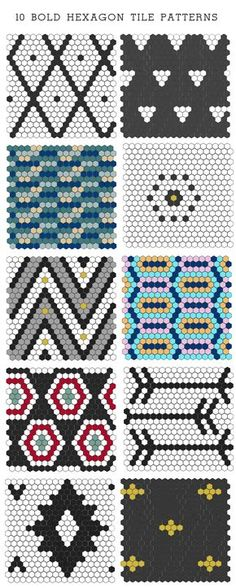 The possibilities are endless when it comes to hexagon tile, a classic material that can go from traditional to modern. Here are 10 bold patterns I came up with and I could have easily come up with more! My favorite is the first one, inspired by Moroccan rugs. From www.themadehome.com