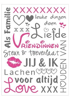 Vriendinnen Fun Words To Say, Cool Words, Heart Quotes, True Quotes, Afrikaanse Quotes, Dutch Quotes, Friend Quotes, True Words, Friends Forever
