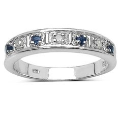 The Diamond Ring Collection: Beautiful 3mm Width Blue Sapphire & Diamond Eternity Ring in Sterling Silver (Size R) The Diamond and Wedding Ring Bargain Centre http://www.amazon.co.uk/dp/B00F36OO0S/ref=cm_sw_r_pi_dp_9Dpkvb1270M8M
