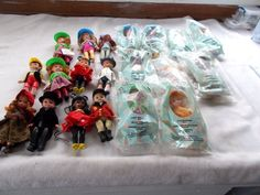 20 Madame Alexander McDonald's Dolls Wizard of Oz Mickey Mouse Red Riding Hood + #madamealexander #Dolls
