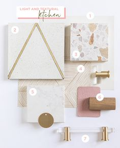 Oh Joy! Founder Joy Cho on Her Plans for a Bright, Happy Kitchen Mason Jar Crafts, Mason Jar Diy, Crafts To Sell, Diy Crafts, Accent Wallpaper, Material Board, Happy Kitchen, Decoration Inspiration, Terrazzo