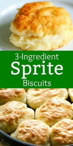 Sprite Biscuits- All Things Mamma - These SpriteⓇ Biscuits are the easiest biscuits you'll ever make! They turn out perfect every time! Seven Up Biscuits, 7 Up Biscuits Recipe, Easy Biscuits, Homemade Biscuits, Recipes With Buttermilk, Bisquick Recipes, Bread Recipes, Baking Recipes, Sprite Biscuits