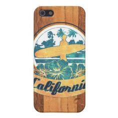 Case-Mate iPhone 5 : Kalifornien-Surfbrett iPhone 5 Hülle