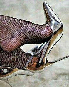 Sexy Legs And Heels, Hot High Heels, High Heel Boots, Womens High Heels, Pantyhose Heels, Stockings Heels, Bas Sexy, Black Stiletto Heels, Designer High Heels