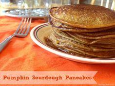 Pumpkin Sourdough Pancakes | Real Food Outlaws