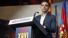 Acto de despedida de Xavi Hernández | FC Barcelona