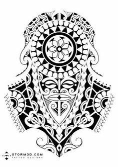 Maori Leg Tattoo, Tattos Maori, Maori Tattoo Meanings, Hawaiianisches Tattoo, Tattoo Style, Mask Tattoo, Thai Tattoo, Samoan Tattoo, Leg Tattoos