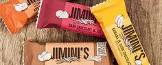 Découvrez les barres JIMINI'S en encas ou avant le sport et faites le plein d'énergie saine et durable !