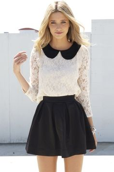 Vintage Chic Clothing | vintage modern, fashion, style, dress, black-white - inspiring picture ...