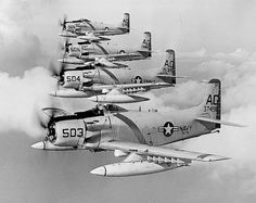 A bit late to WWII, but impressive nonetheless. Us Military Aircraft, Navy Aircraft, Military Jets, Ww2 Aircraft, Ghost Rider, Douglas Aircraft, Helicopter Pilots, Navy Marine, Thing 1