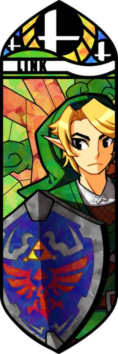 Link.  There's just something I love about these stained glass type pictures