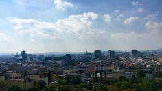 Wien vom Riesenrad aus