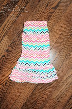 Toddler Infant girls Chevron double ruffle by SSBSimplySewBoutique, $26.00