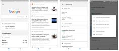 Google Search App Update Divides News and Personal Info into Tabs