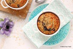 Voor een heerlijk luie zondag, of een dag waarop je wat meer tijd hebt voor het ontbijt. Deze havermout ontbijtcake, ofwel mug cake, is zo'n traktatie!