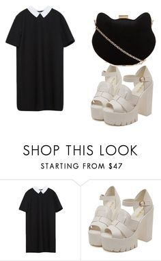 """me"" by happygirlavenue ❤ liked on Polyvore featuring New Look"