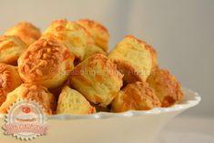 Túrós-sajtos pogácsa Snack Recipes, Snacks, Cauliflower, Chips, Macaron, Vegetables, Cooking, Healthy, Cake