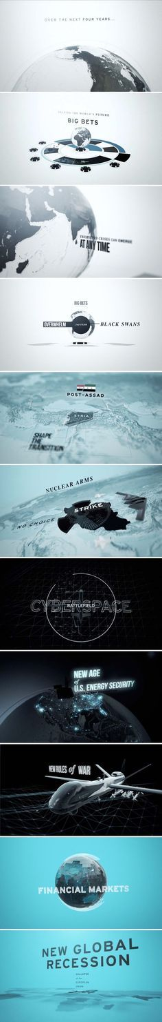 motion graphics/ storyboards/ styleframes | Big Bets Black Swans by Antibody