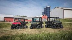 New 2017 Polaris Ranger® 500 ATVs For Sale in North Carolina. Solar Red 58-inch width and excellent utility value Smooth and reliable 32-horsepower ProStar® EFI engine features best in class torque Plush suspension travel and refined cab comfort for 2 creates an excellent ride
