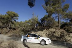 20 FEGHALI Roger and CHEHAB Ziad MITSUBISHI LANCER EVO IX action during the 2016 European Rally Championship ERC Cyprus Rally,  from october  7 to 9  at Nicosie, Cyprus - Photo Gregory Lenormand / DPPI