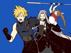 Final Fantasy Crisis Core, Final Fantasy Funny, Final Fantasy Artwork, Final Fantasy Vii Remake, Fantasy Series, Cloud And Tifa, Cloud Strife, Final Fantasy Collection, Cg Artwork