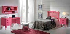 Dormitorio Carla   Cuando los más pequeños de la casa dejan de ser tan pequeños  Elige su color favorito y crea el #dormitorio juvenil perfecto para ellos #Decoración #Muebles  deco, diseño de interiores, interiorismo, interiorism, interior design, mobiliario