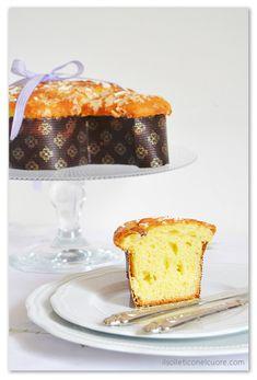 ricetta colomba pasquale lievito madre Vanilla Cake, Desserts, Food, Breads, Tailgate Desserts, Dessert, Postres, Deserts, Meals