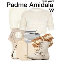 Inspired by Natalie Portman as Padme Amidala in the Star Wars film franchise Disney Bound Outfits Casual, Star Wars Outfits, Disney Outfits, Star Wars Padme, Star Wars Shoes, Star Wars Love, Character Inspired Outfits, Star Wars Film, Star Wars Gifts