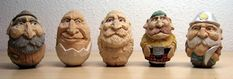 Learn Caricature Carving | Learn to carve wonderful caricatures from basswood eggs in this easy ...