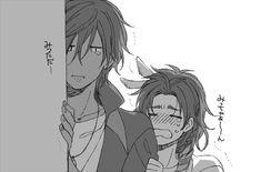 泣いてるちっちゃい光忠くんと、抱っこしてあやしてる大きい鶴丸さん : とうらぶnews【刀剣乱舞まとめ】