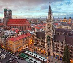 Immerse yourself in the Oktoberfest Beer Festival in Munich, Germany