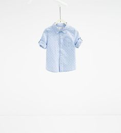 Image 1 of Striped and printed shirt from Zara