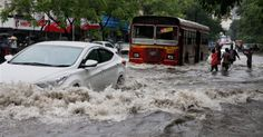 Two electrocuted, Trains affected, Mumbai-Life lagged due to heavy rains #MumbaiRains