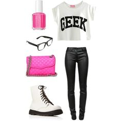 Geek Outfit :- totally have all these apart from the geek tee