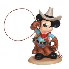 Cowboy Mickey - Disney - Figurines - Precious Moments