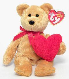 Goodheart - Bear - Ty Beanie Babies